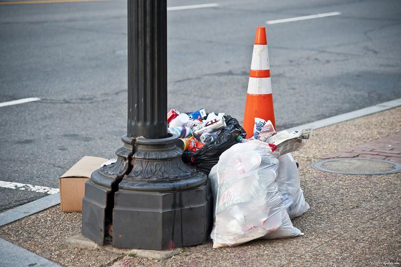 Trash? Washington, DC