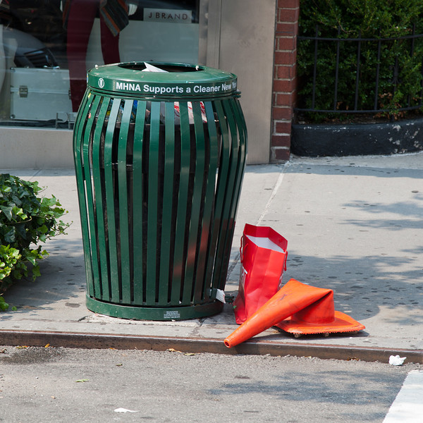Waiting to be Collected as Garbage, NYC