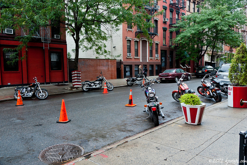 Hell's Cones, NYC