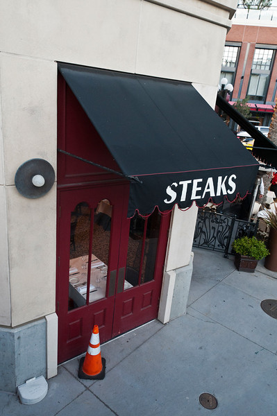 Wanting a Steak, San Diego