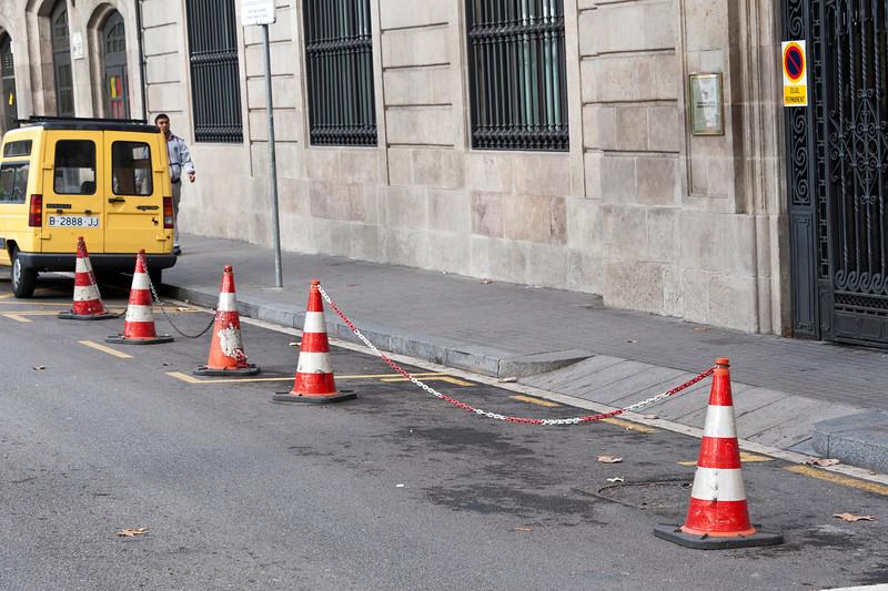 Chain gang, Barcelona