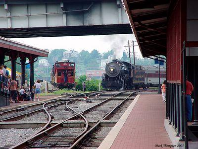 Loading Station. Cumberland Maryland
