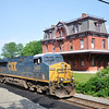 On 05/30/11 at 1635 hrs caught the Q191(Selkirk to Philadelphia) intermodal train passing the Old Hopewell Boro Station(EX- Reading R/R Station) in Hopewell, NJ. The train was led by engine # 5323(2006 GE-ES44DC)& engine # 5422(2007 GE-ES44DC).