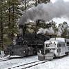 DSNGRR Winter Photo Train Sunday 503 022017