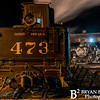 DSNGRR Winter Photo Train Saturday 187 022017