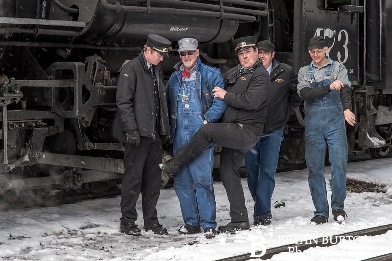 DSNGRR Winter Photo Train Sunday 511 022017