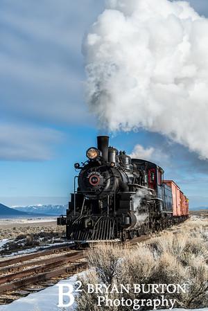 Nevada Northern Railway 2016