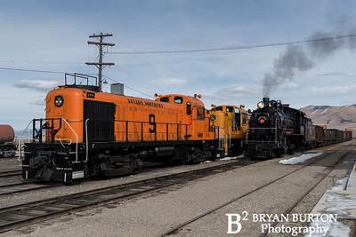 Nevada Northern Railway Winter 2018