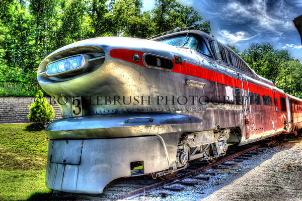 #3 Aerotrain.  Chicago, Rock Island & Pacific 1955.