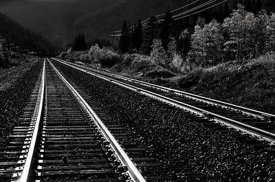 Tracks at Rollins Colorado Mountains Sept 07