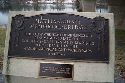 Mifflin County Veterans Memorial Bridge.