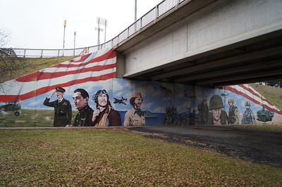 Mifflin County Veterans Memorial.
