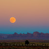 Full Moon Over Sands Spring Aquifers, Monument Valley, AZ