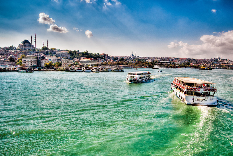 Suleymaniye Mosque from the Golden Horn