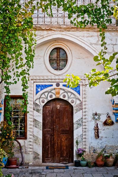 Vine Door, Mustafapasha, Cappadocia