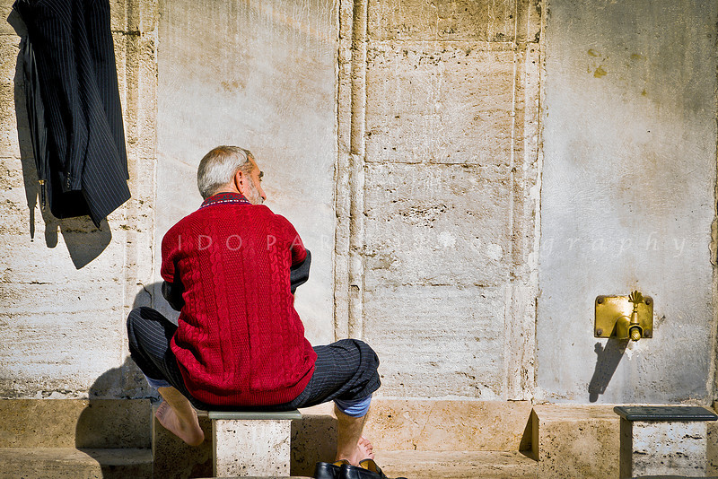 Ablution at Yeni Camii, the New Mosque