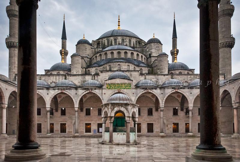 Sultanahmet Camii, the Blue Mosque, Istanbul