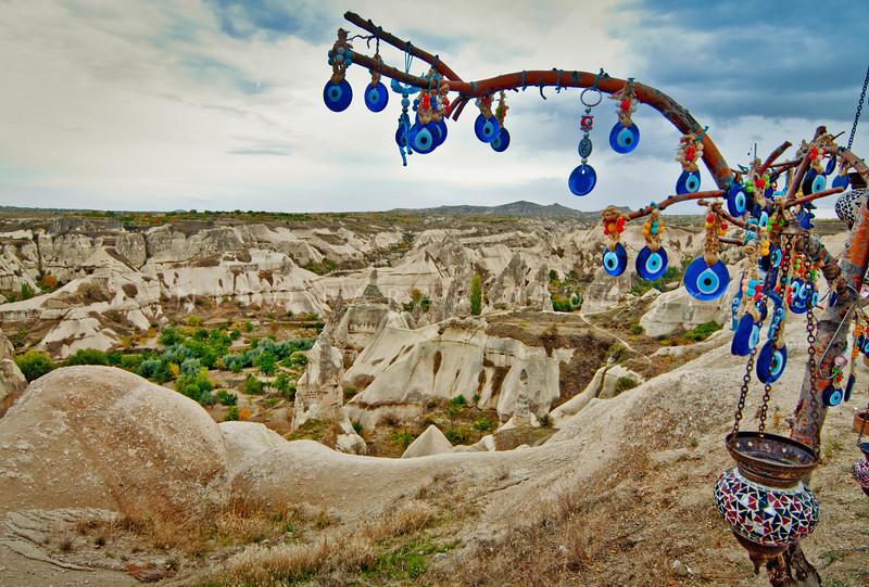 Evil Eye Tree, Urgup, Cappadocia