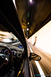 The Mont Blanc tunnel