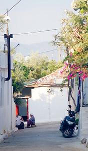Side street in Fethiye