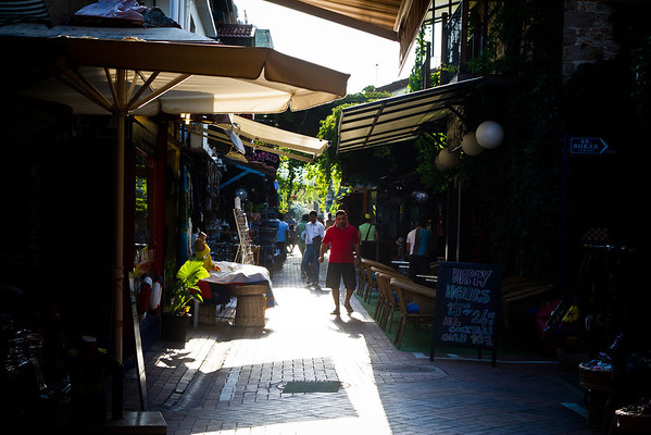 Streets in Fethiye