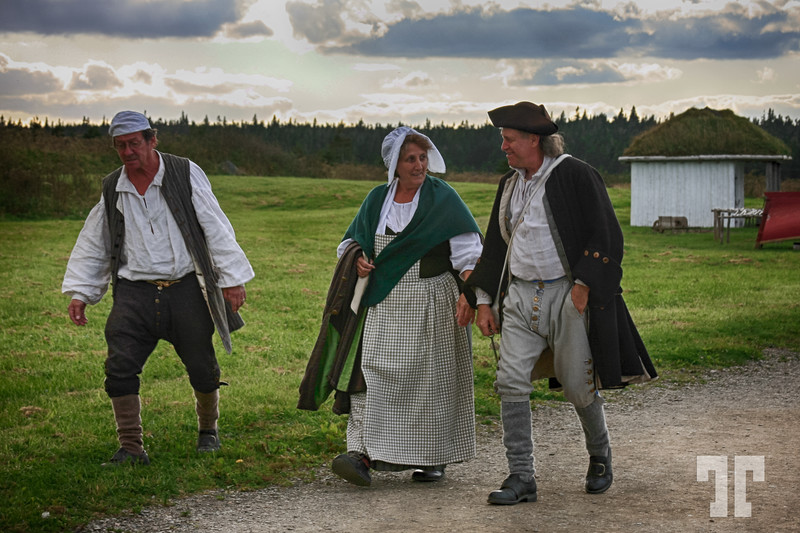 People of Louisburg Fortress - Cape Breton, Nova Scotia