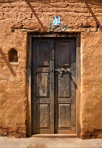 Nepal Doorway