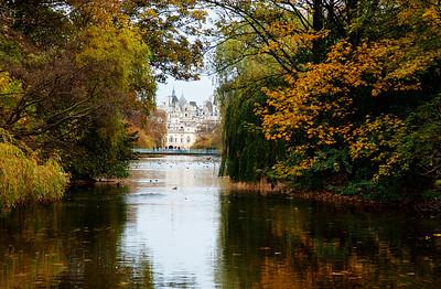 Fall in London, England