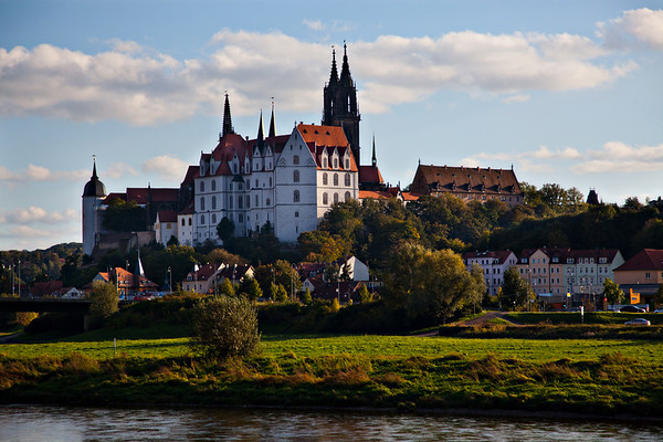 Germany's Oldest Castle, Albrechtsburg, Meissen, Germany