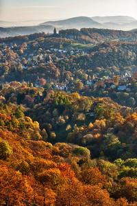 October Hills of Eisenach, Germany