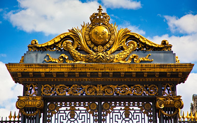 Gilded Gate, Palais de Justice, Paris, France