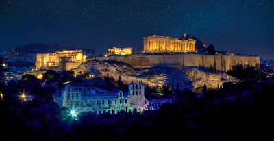 5th Century BC Acropolis, Greece