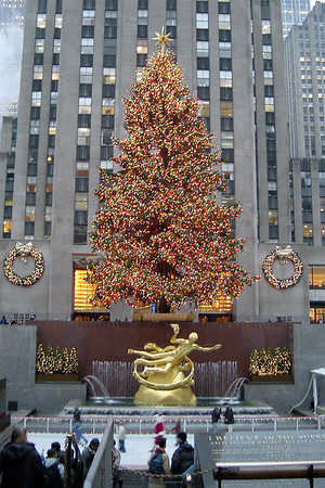 Rockefeller - Xmas tree and rink