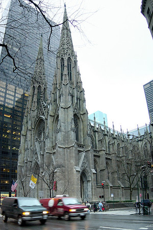 St Patricks Cathedral (composite)