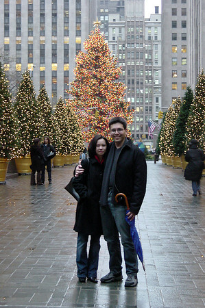 Rockefeller - Xmas tree - Val and Eric