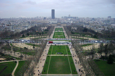 View of blank from Eiffel Tower
