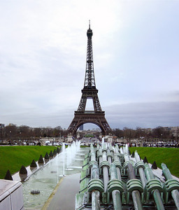Eiffel Tower composite closer