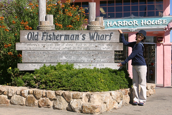After a short walk, we arrive at Old Fisherman's Wharf