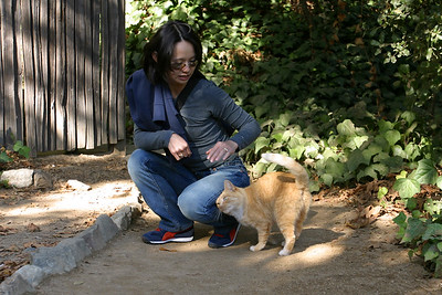 While making a last minute pit stop, Valerie hears the familiar sound of a cat's meow...when she emerges, Marmalade (the bakery's resident feline) greets her