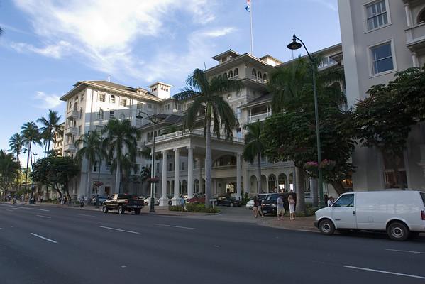 The Sheraton looks like a nice hotel