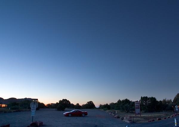 My first pre-dawn shot of my NSX