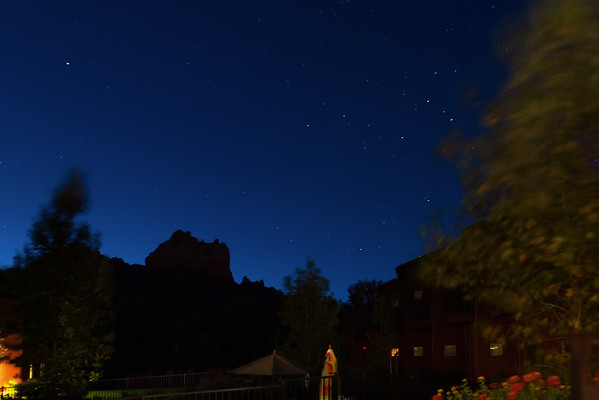 DAY 2 - I wake up early, but do not disturb Valerie so I can take pre-dawn photographs over the Amara Creek Resort