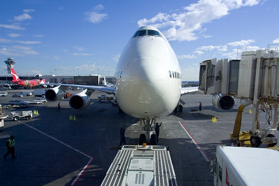 I haven't been on a 747 for quite some time...forgot how big they are