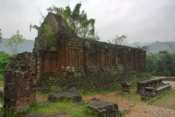After the performance, we head back to the ruins.  This structure houses artifacts, but the bulk of the statues have long since been moved to Da Nang