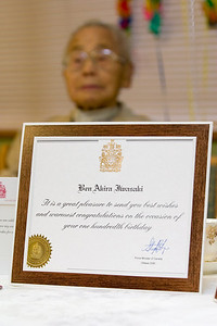 Certificate signed by the Prime Minister of Canada