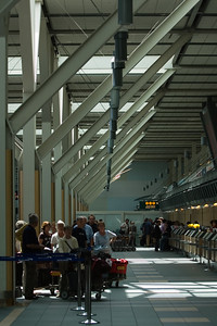I've taken pictures of YVR before, but not of the check-in lines