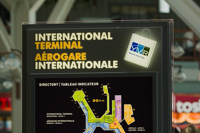 With four hours to kill at YVR, I decide to explore the International Terminal