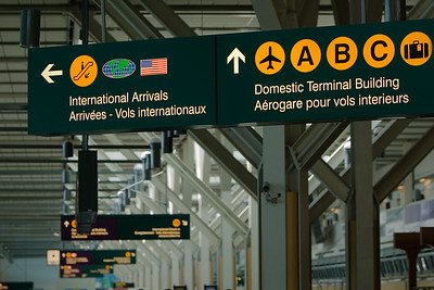 I don't feel like walking over to the Domestic Terminal...and I've run out of things to photograph at the International Terminal
