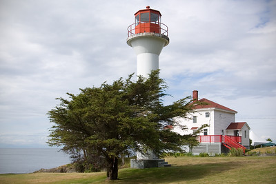DAY 2 (continued) - We arrive at the Mayne Island Lighthouse