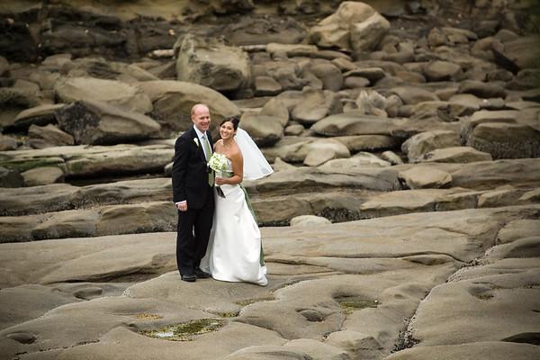 Jeff and Angela on the rocks